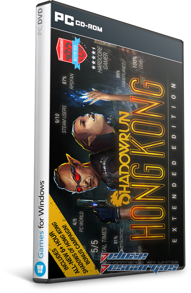 Descargar Shadowrun Hong Kong Extended Edition Ingles