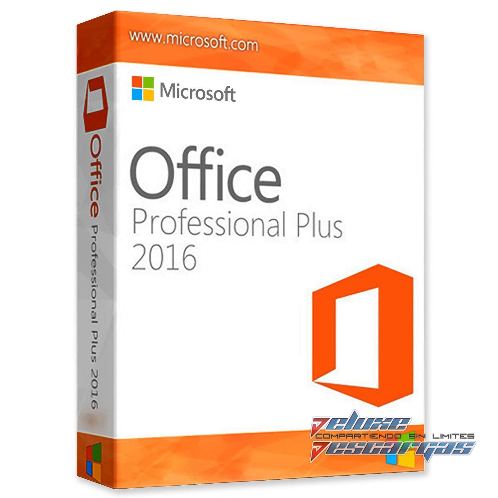 microsoft office professional plus 2016 x64 (64-bit) actualizado.iso